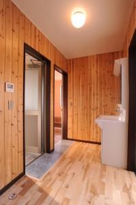 天然温泉付き住宅の、デザイナーズ物件です。